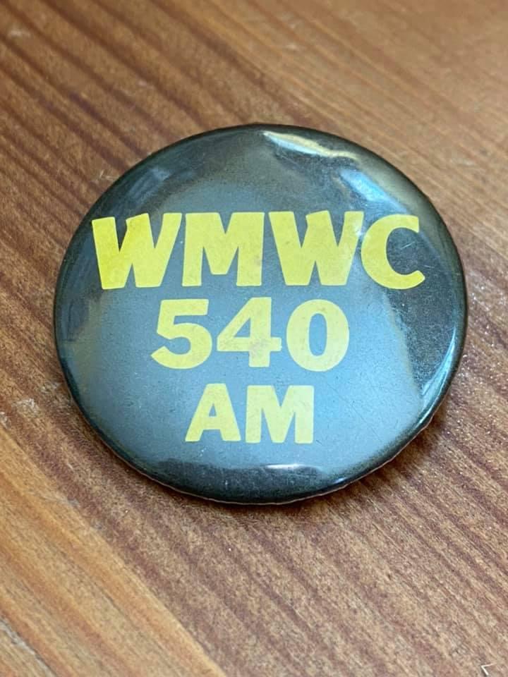 WMWC 540 AM Pin