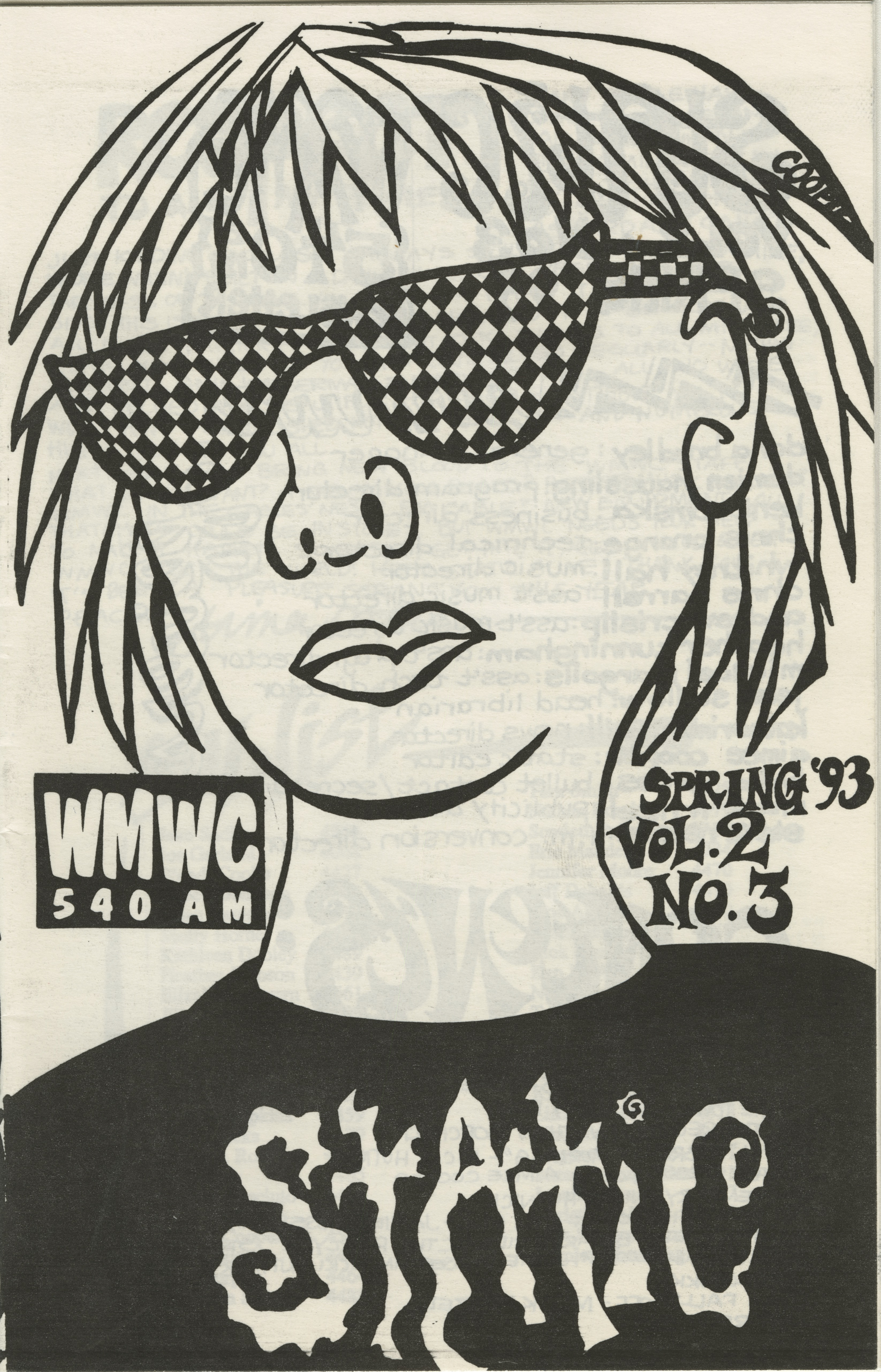Static: Volume 2, Issue 3 (Spring 1993)