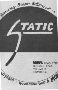 Static: Volume 2, Issue 2 (November/December 1992)