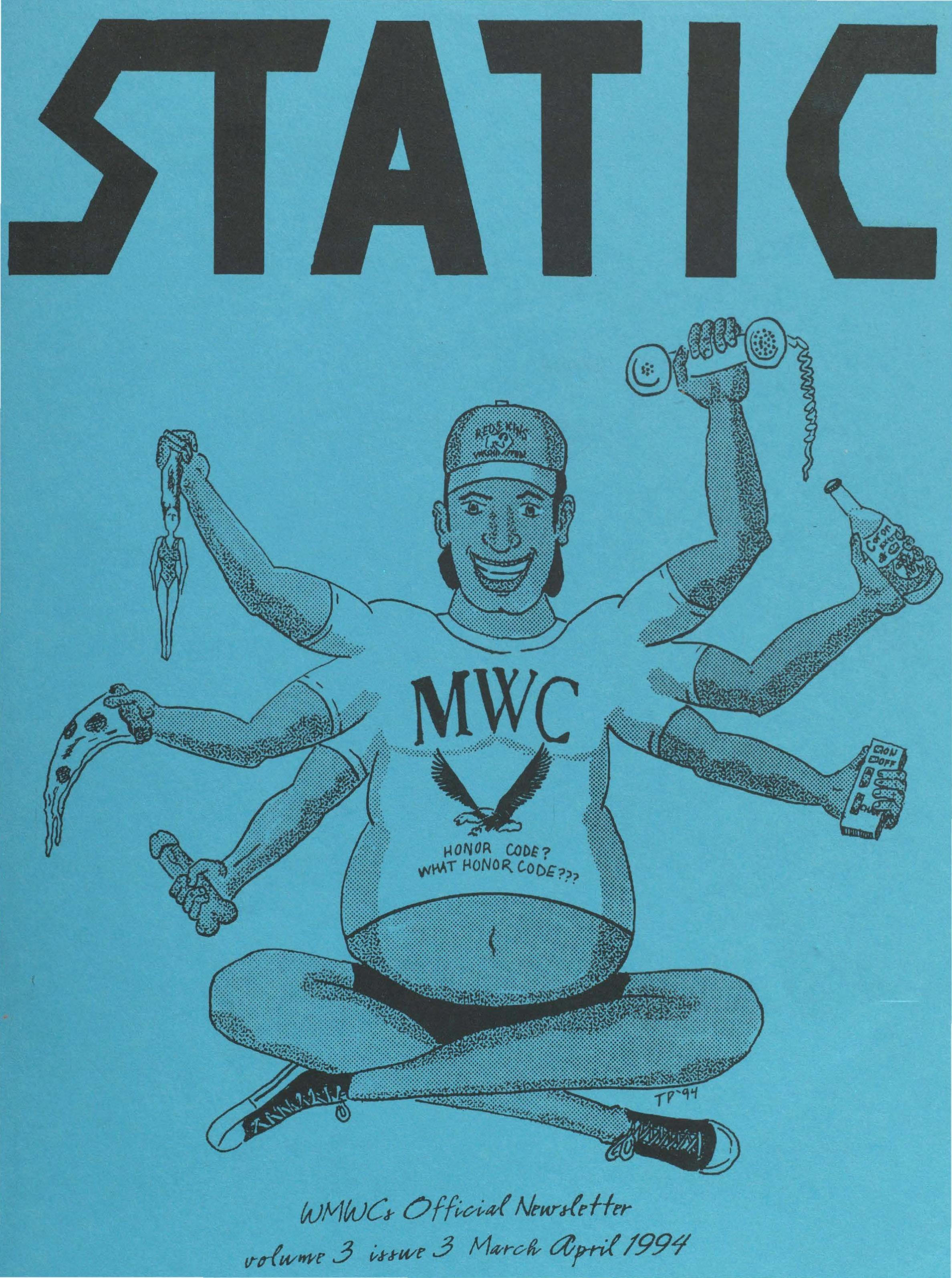 Static: Volume 3, Issue 3 (April 1994)